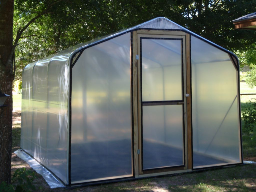 Polycarbonate greenhouse for sale