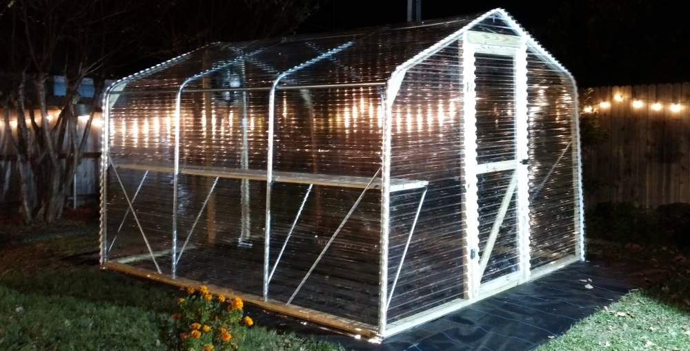 Greenhouse installed in Texas